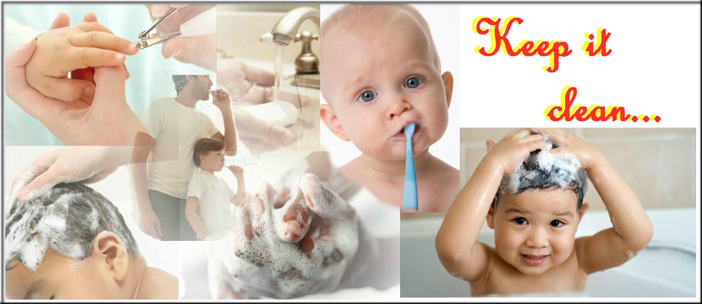 how to encourage children to develop hygiene practices